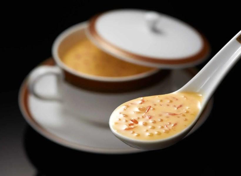 LiLi---Creme-de-mangue,-pomelo-et-perles-de-sagou---Chilled-mango-cream-with-pomelo-and-sago