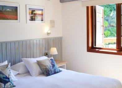 Habitación cama king - Hotel Frutillar