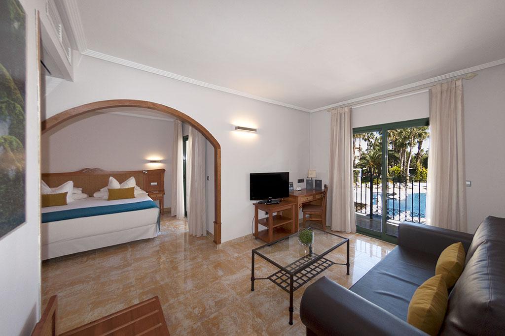 Habitacin Junior Suite  Hotel La Laguna