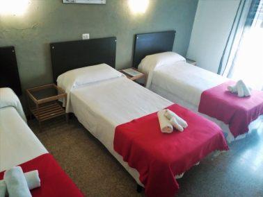 Triple 3 llits i Balcó