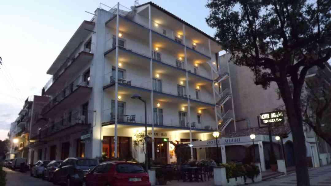 Hotel miami de Tossa de Mar deNit