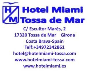 Hotel Miami de Tossa de Mar