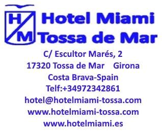 Segell Hotel Miami de Tossa de Mar