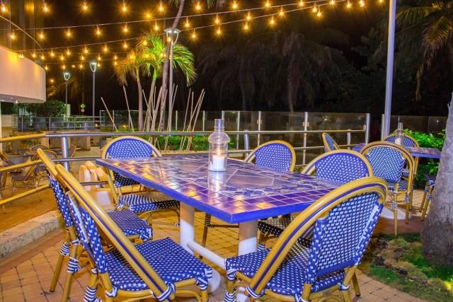 Nueva terraza en Hotel Almirante Cartagena