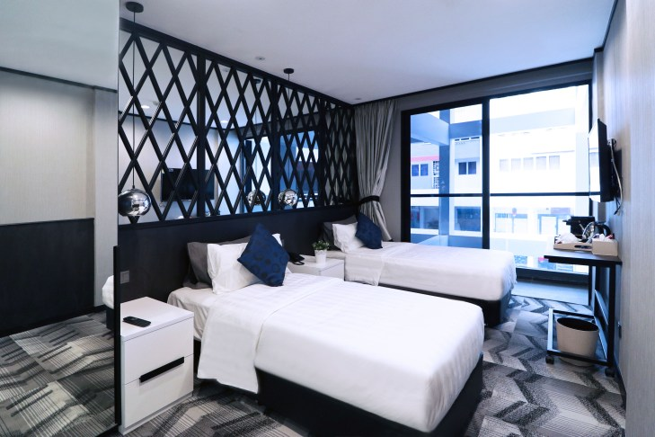 Boutique Hotel Deluxe Twin Balcony