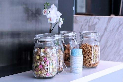 Free lobby snack