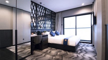 Singapore Boutique Hotel Deluxe Double with Balcony