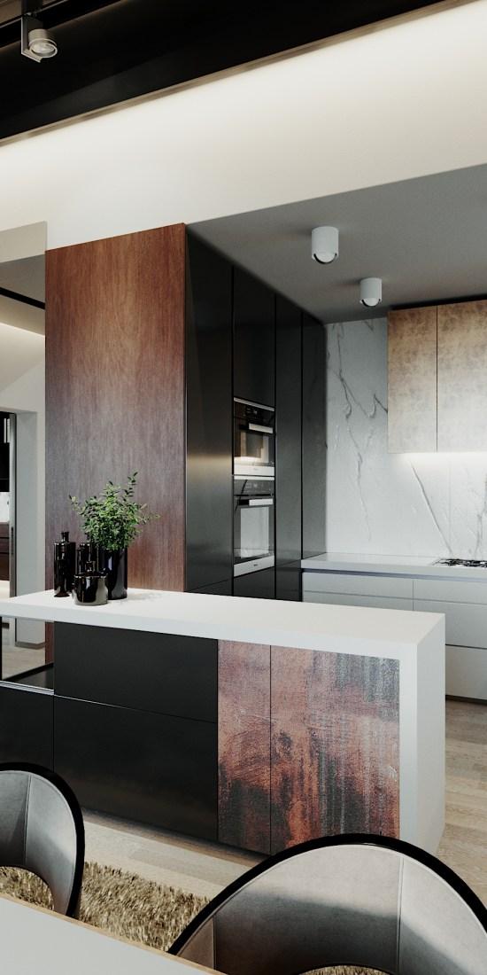 Luxusny interier na mieru kuchyna
