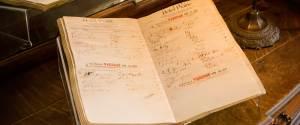 old hotel register