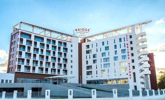 Hotel Bridge Resort Сочи зимой