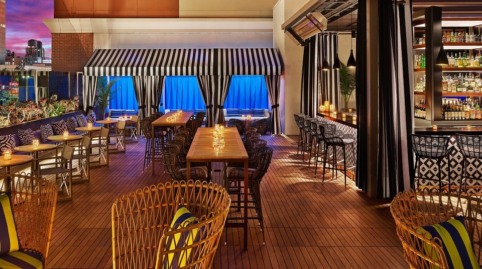 hotels with kitchens in san diego custom kitchen cabinets richmond va topside terrace bar hotel republic