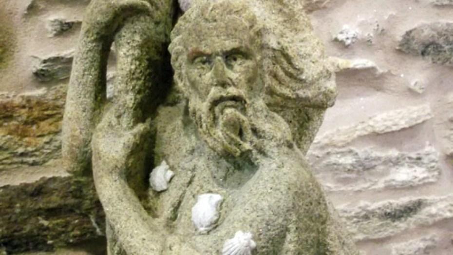 Detalle escultura Apostol Santiago