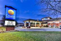 Comfort Inn & Suites Ambassador Bridge Windsor