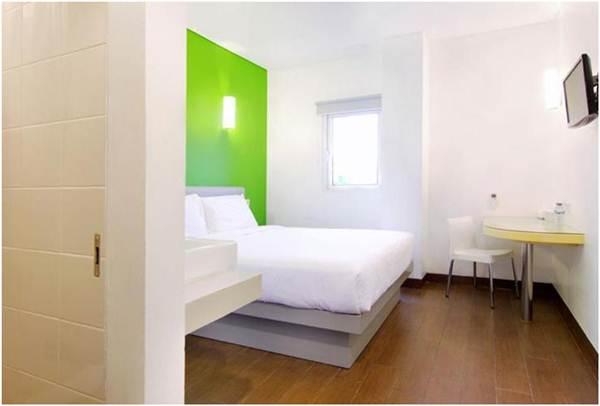 Salah satu kamar yang ada di Amaris Hotel Diponegoro Jogja.