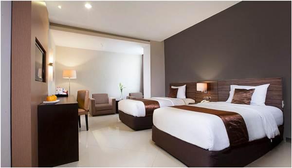 Kamar Grage Ramayana Hotel Jogja yang luas, bersih, dan nyaman.