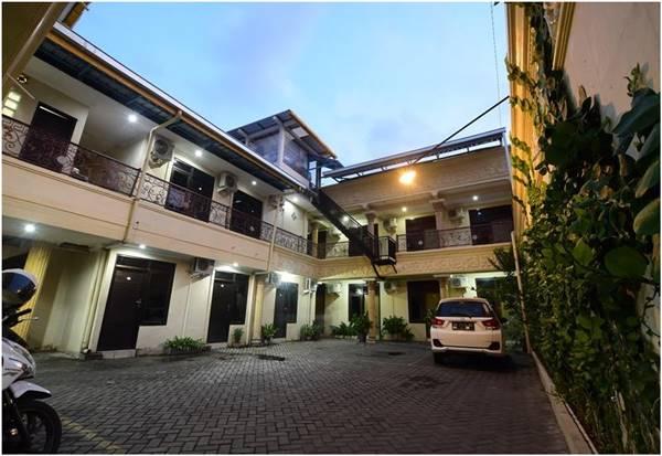 View Depan Hotel Srikandi Baru Jogja