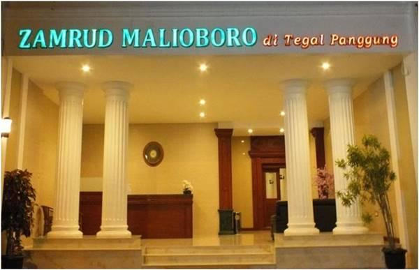 View Depan Hotel Zamrud Malioboro Jogja