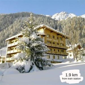 Hotels Near Trains | St Anton am Arlberg | Hotel Garni Ernst Falch