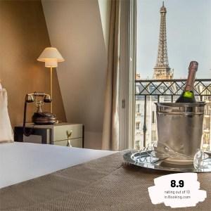 Hotels Near Trains | Paris | Eiffel Tower | Hôtel Le Walt