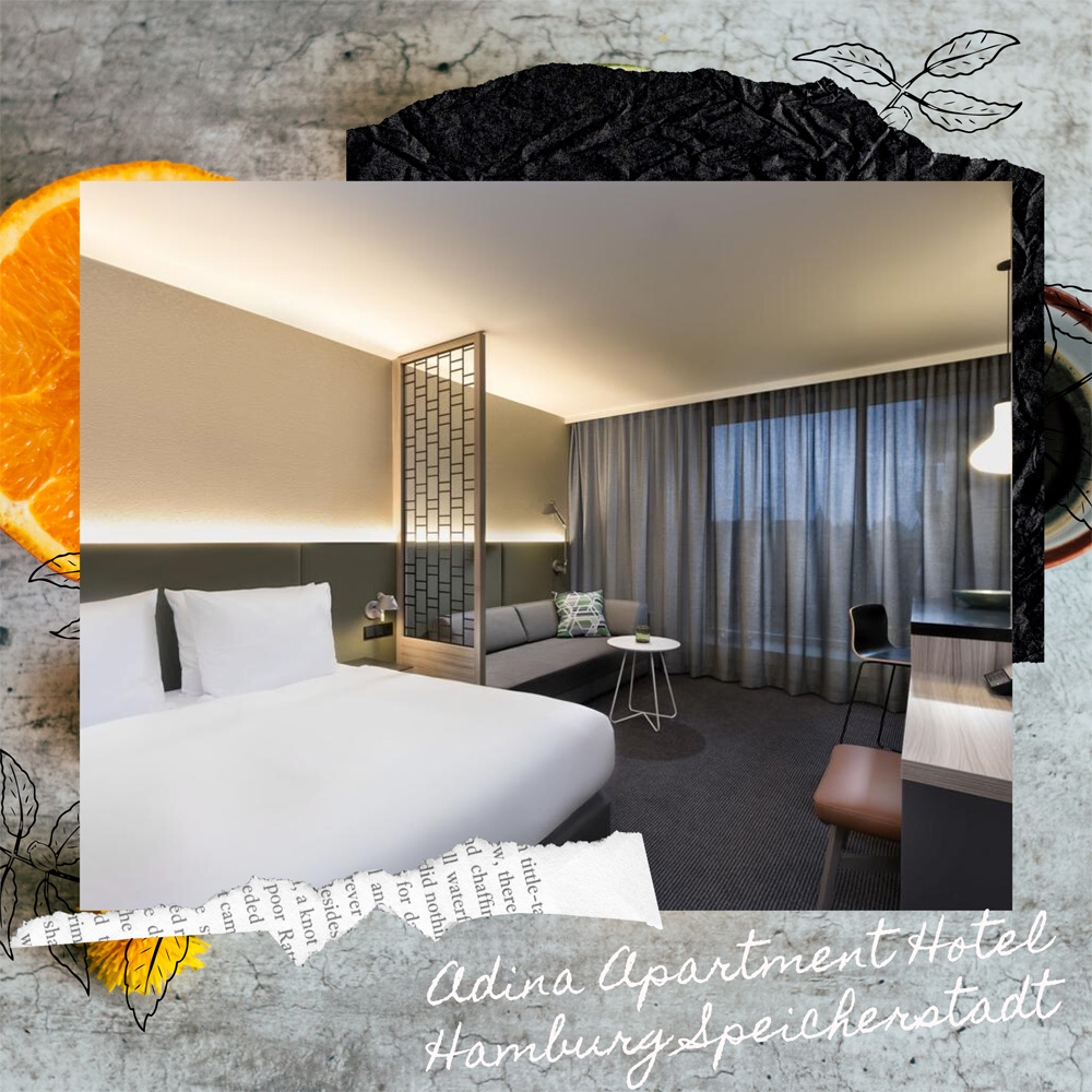 Hotels Near Trains | Hamburg | Adina Apartment Hotel Hamburg Speicherstadt