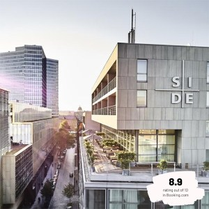 Hotels Near Trains | Hamburg | SIDE Design Hotel Hamburg