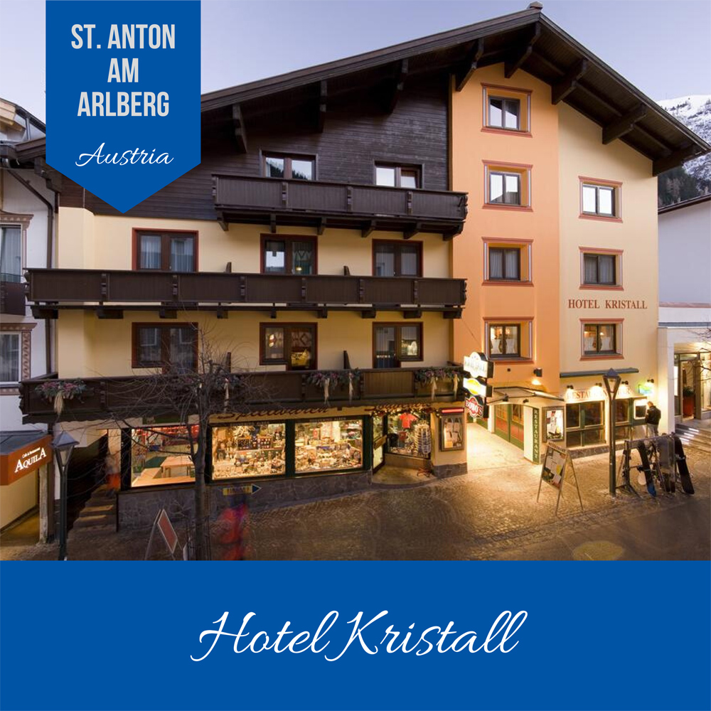 Hotels Near Trains | St Anton am Arlberg | Hotel Kristall