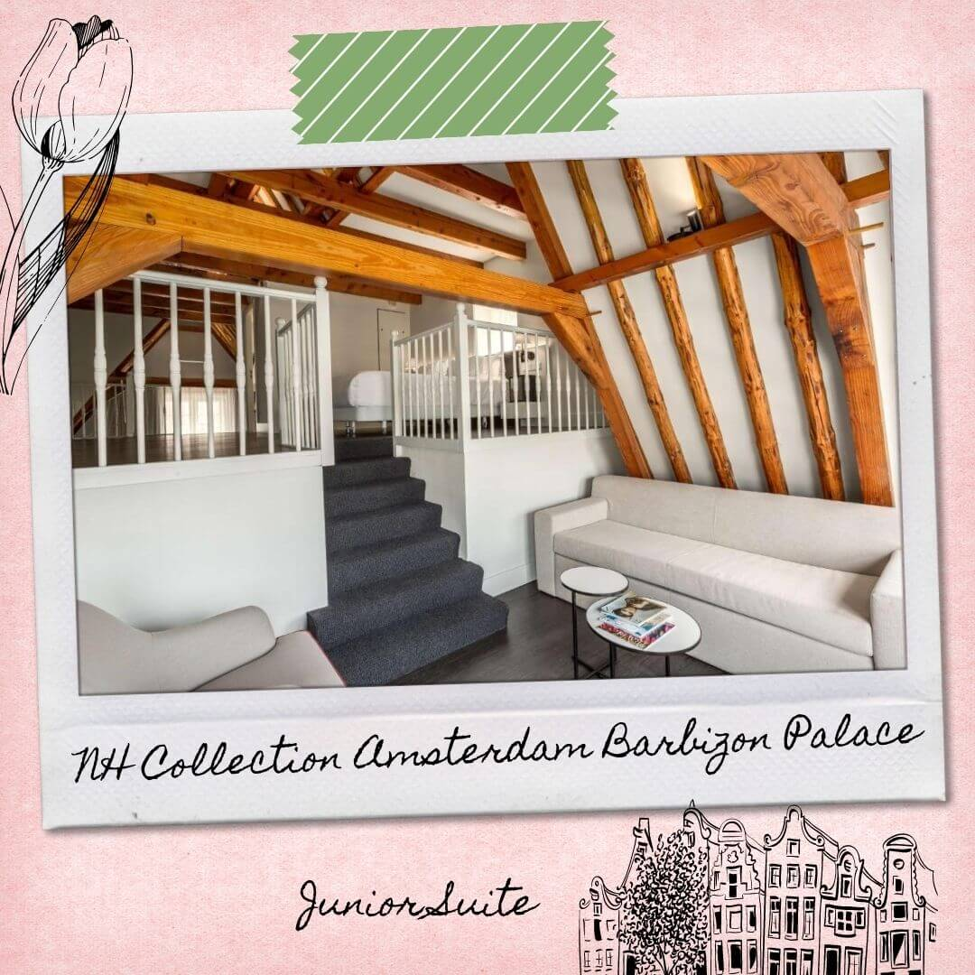 Hotels Near Amsterdam Central Train Station - NH Collection Amsterdam Barbizon Palace - Junior Suite