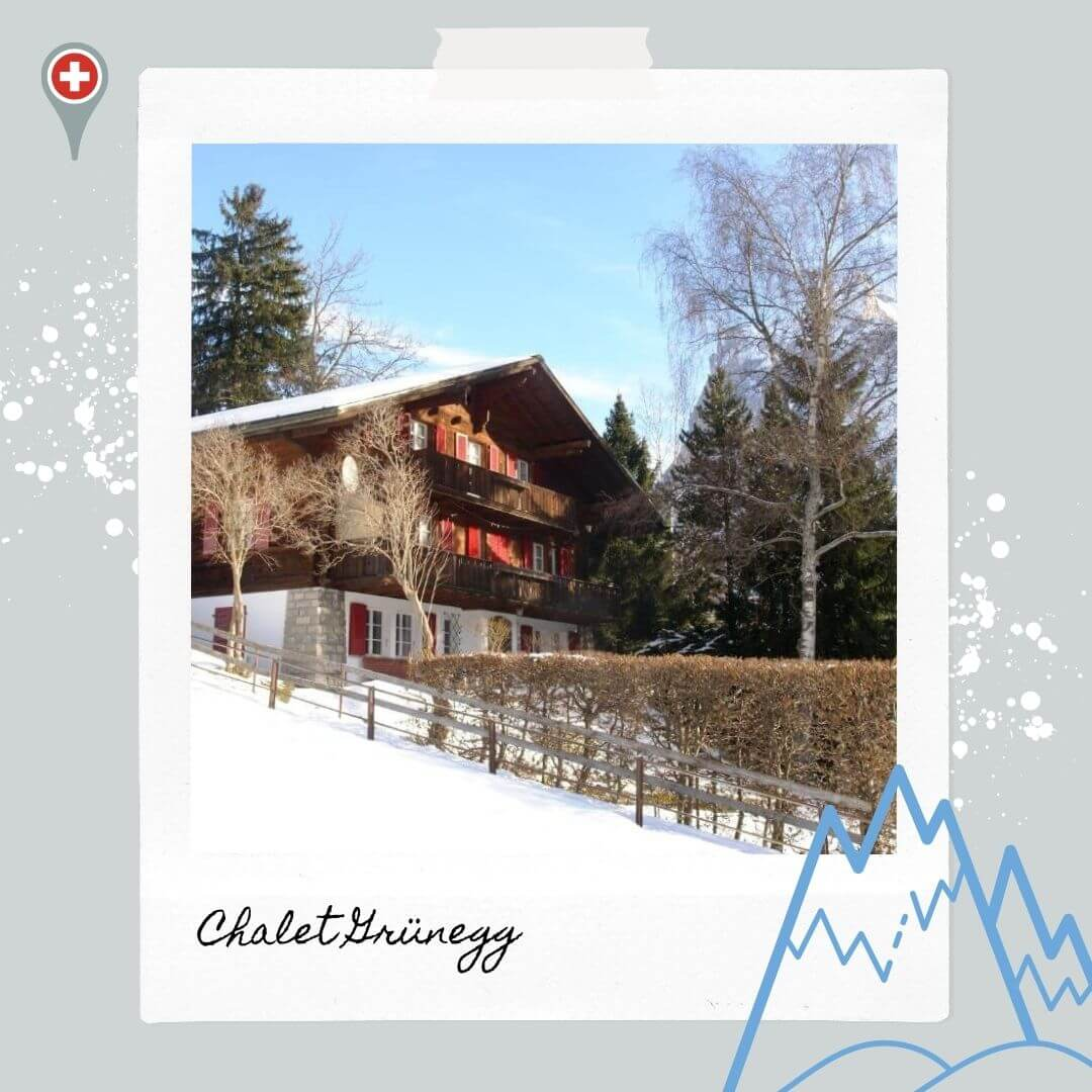 Hotels Near Grindelwald Train Station - Chalet Grunegg