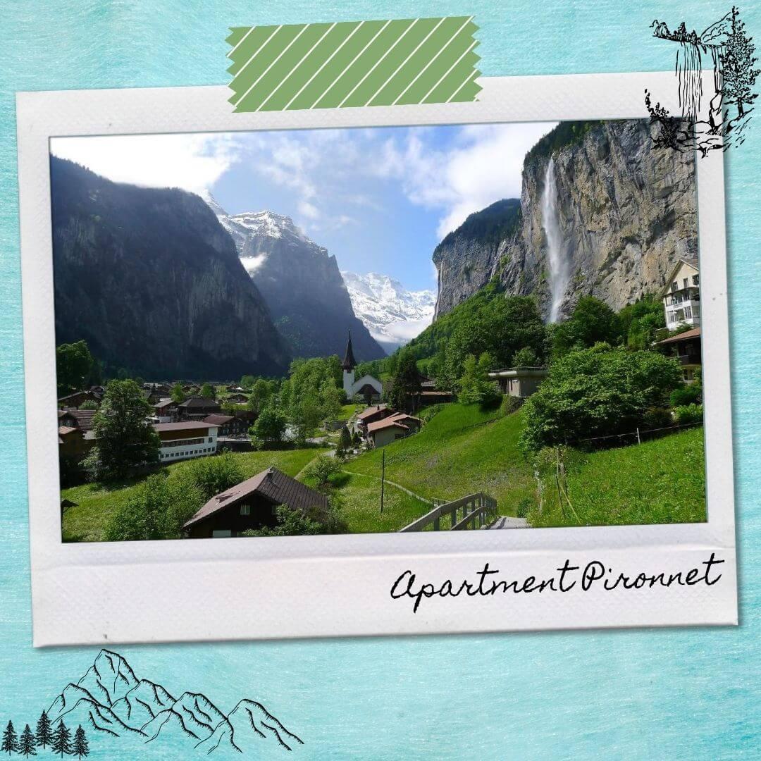 Hotels Near Lauterbrunnen Train Station - Apartment Pironnet