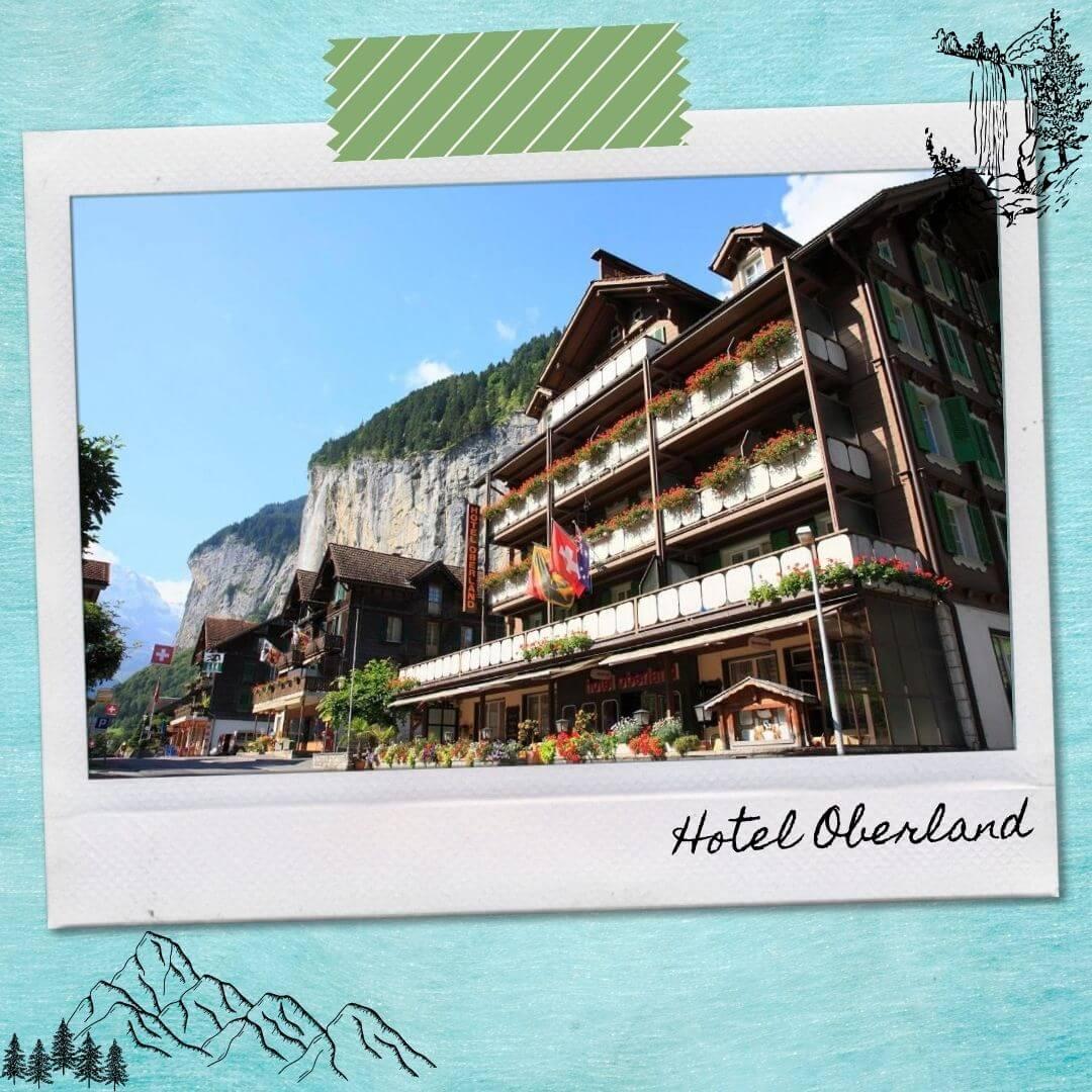 Hotels Near Lauterbrunnen Train Station - Hotel Oberland