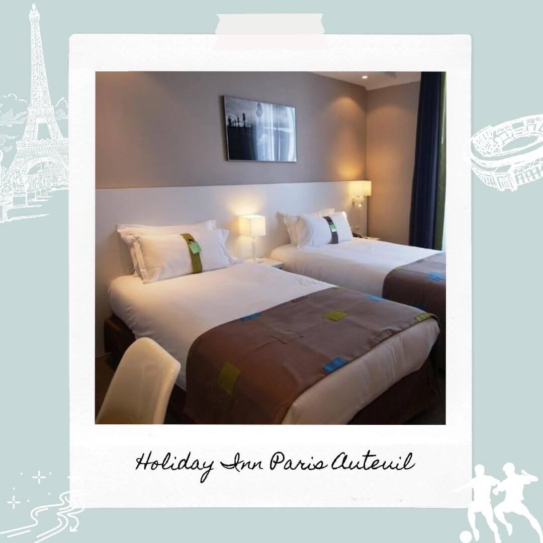 Hotels Near Parc des Princes - Holiday Inn Paris Auteuil