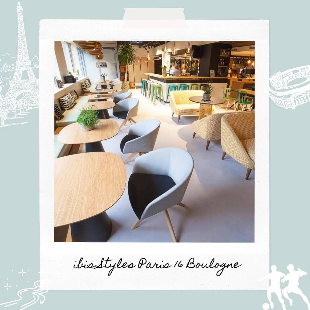 Hotels Near Parc des Princes - ibis Styles Paris 16 Boulogne
