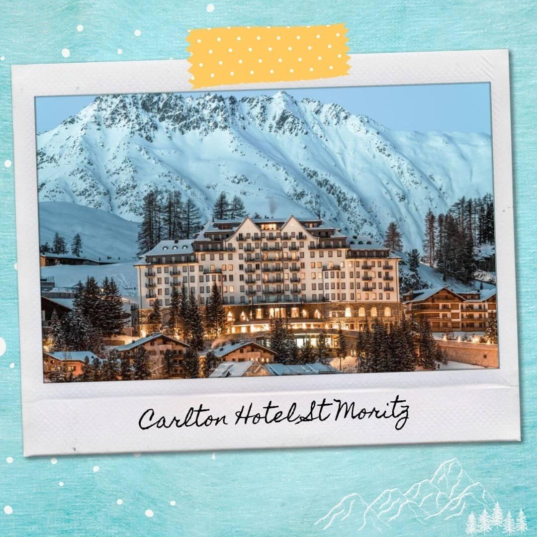 Hotels Near St Moritz Train Station - Carlton Hotel St Moritz