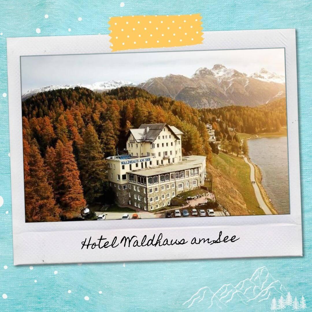 Hotels Near St Moritz Train Station - Hotel Waldhaus am See