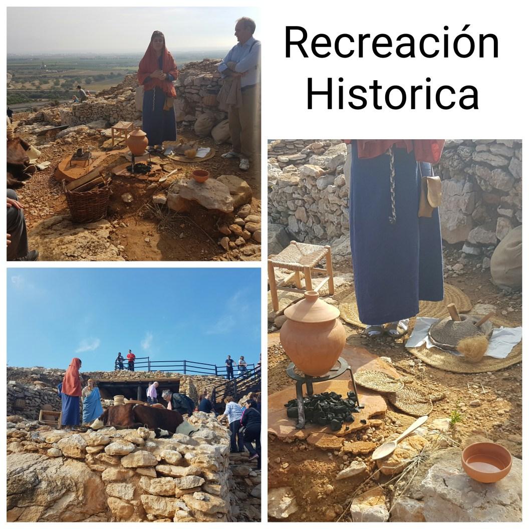 Recreación Historica sobre los Ilercavones en el Poblado Ibero del Puig de la Nau en Benicarló