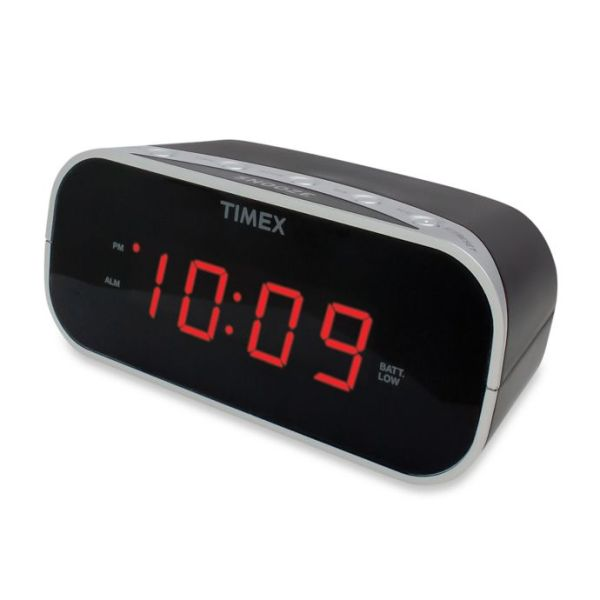 Timex® Red Display Alarm Clock