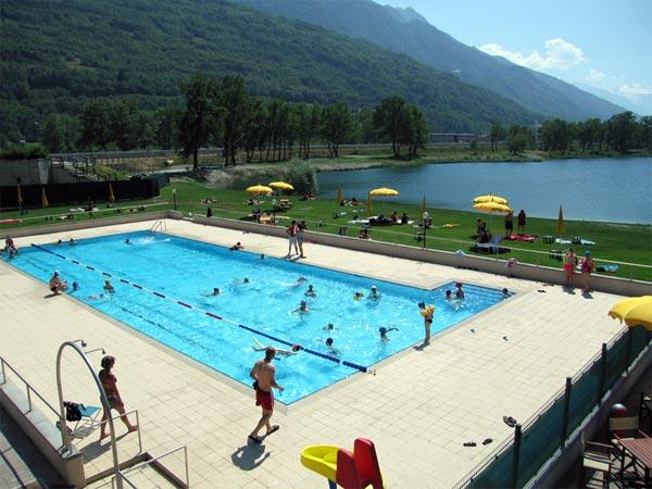 Piscina  Hotel SPA Biancaneve Aosta