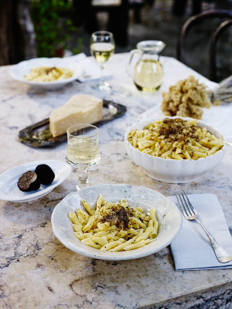 Pasta with Truffels