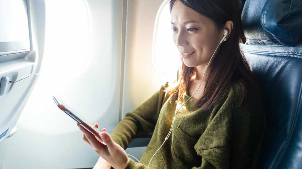 Use Your Own Devices on a plane ipad iphone tablet samsung apple