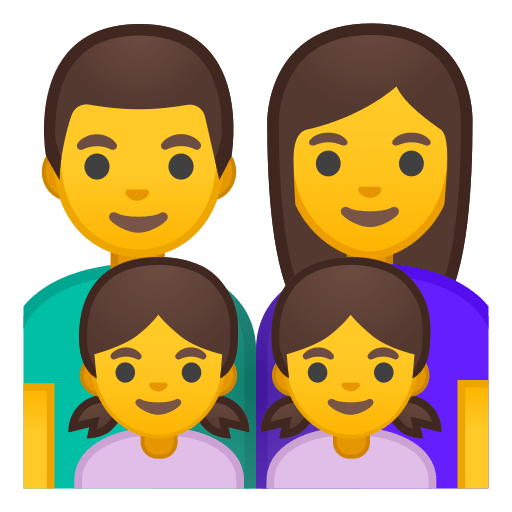 Family Man Woman Girl Girl Emoji Meaning and Pictures