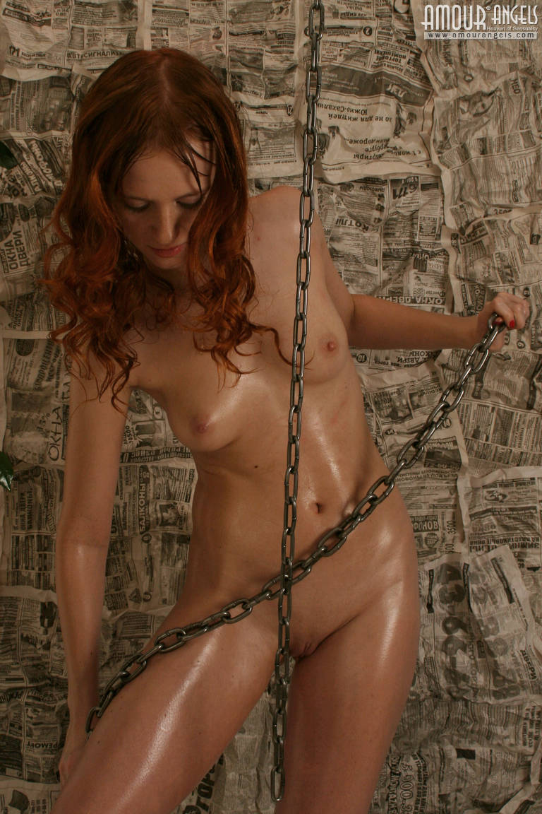 Thrilling Redhaired Teen