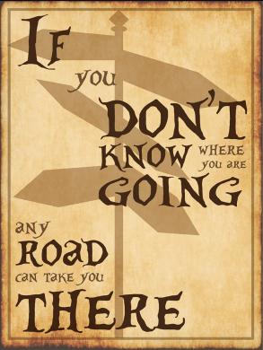 Any Road - Alice In Wonderland - Lewis Carrol