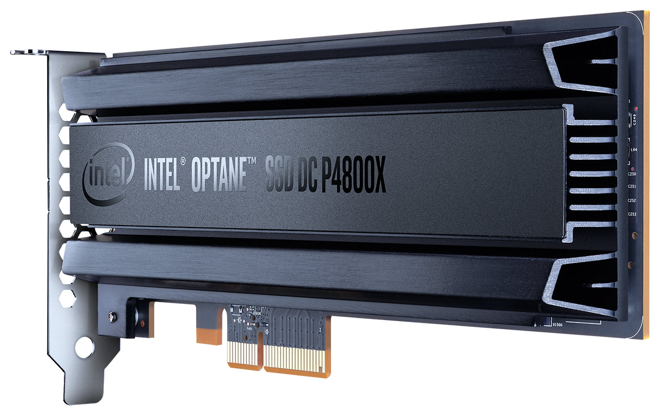 Intel Optane SSD DC P4800X With 3D Xpoint Memory Debuts Ultra-Low Latency Storage. New Memory Tier | HotHardware