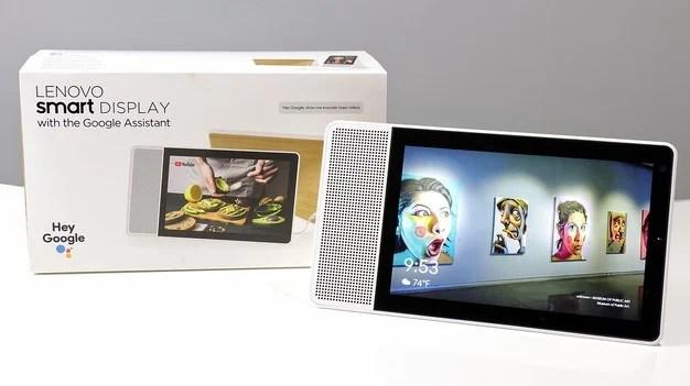 Lenovo Smart Display with box