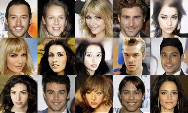 NVIDIA GAN Faces