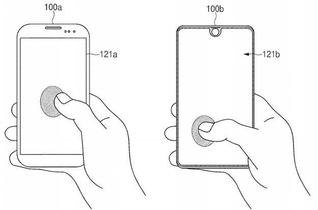 Samsung Files Patent On Full-Display Fingerprint Sensor