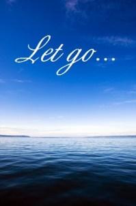 Sky & ocean with Let Go...