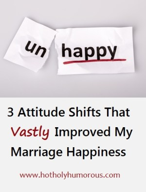 The word unhappy changed to happy on torn paper and white background + blog title