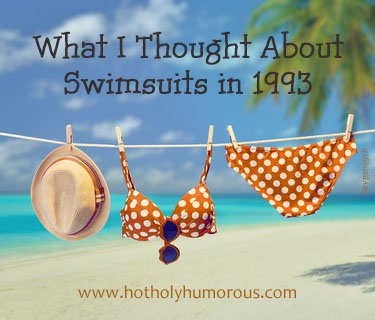 What I Thought About Swimsuits in 1993