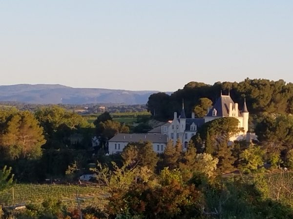 Picture of French countryside chateau